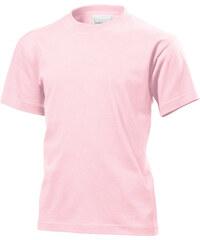 Prodloužené tričko - Světle růžová S