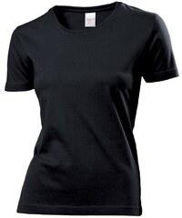Bavlněné tričko Stedman - Opálově černá S