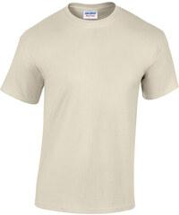 Bavlněné tričko Gildan Heavy - Přírodní S