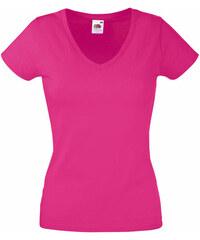 Tričko Lady-Fit - Fuchsiová XS