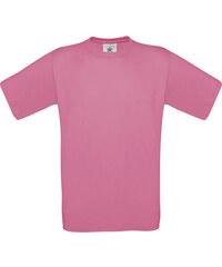 Silnější bavlněné tričko - Růžová S