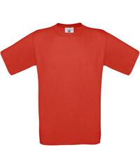 Silnější bavlněné tričko - Zářivě oranžová S