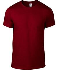 Úplé tričko Fashion - Vínově červená S