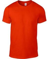 Úplé tričko Fashion - Oranžová S