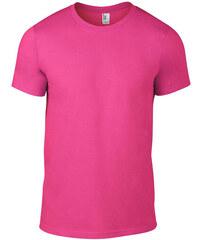 Úplé tričko Fashion - Neonově růžová S