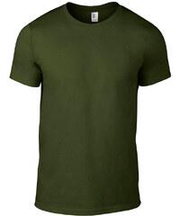 Úplé tričko Fashion - Vojenská zelená S