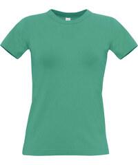 Tričko B&C - Pacifická zelená XS