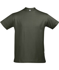 Tričko Sols Klasik - Vojenská zelená S