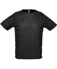 Tričko na sport - Černá XXS