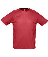 Tričko na sport - Červená XXS