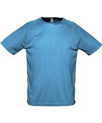 Tričko na sport - Modrá XXS