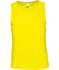 Tílko na tělo - Žlutá S