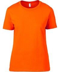 Úplé tričko Fashion - Neonová oranžová S
