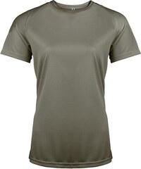 Sportovní tričko ProAct - Šedozelená XS