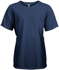 Tričko na sport Kariban - Námořní modrá 6-7
