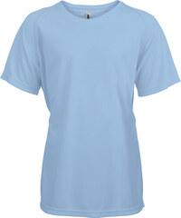 Tričko na sport Kariban - Světle modrá 6-7