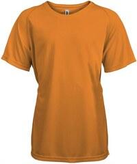 Tričko na sport Kariban - Oranžová 6-7