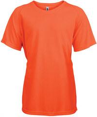 Tričko na sport Kariban - Zářivá oranžová 6-7