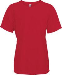 Tričko na sport Kariban - Červená 6-7