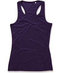 Fitness top Active - Tmavě fialová S