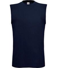 Triko bez rukávů - Námořní modrá S