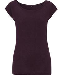 Trendy bambusové tričko - Fialová S