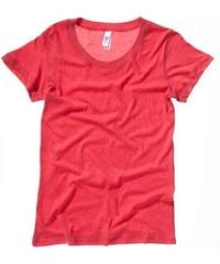 Příjemné měkké tričko - Červená S