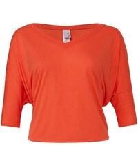 Stylové volné tričko - Korálová S