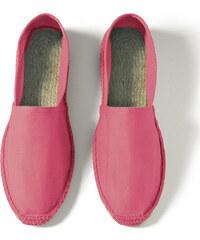 Pánské letní espadrilky - Zářivá růžová 40