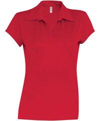 a4863218b431 ADLER Cotton Dámska polokošeľa 21307 červená S. V 6 veľkostiach. Detail  produktu · Hladká polokošile Kariban