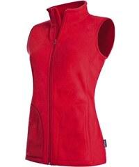 Vesta active fleece - Červená S