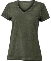 Tričko Gipsy - Olivově zelená S