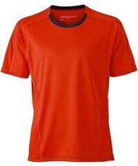Funkční tričko James Nicholson - Červená S