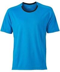 Funkční tričko James Nicholson - Modrá S