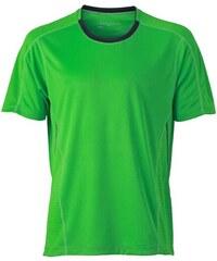 Funkční tričko James Nicholson - Zelená S