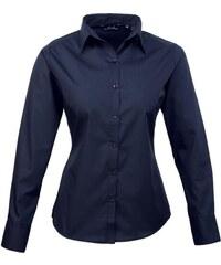 Dámská košile Premier - Námořní modrá XXS