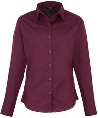 Dámská košile Premier - Failovočervená XXS