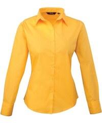 Dámská košile Premier - Slunečnicová XXS