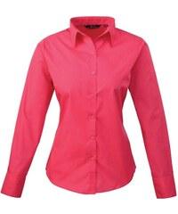 Dámská košile Premier - Sytě růžová XXS