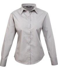 Dámská košile Premier - Stříbrná XXS