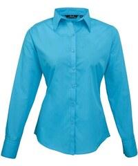 Dámská košile Premier - Tyrkysově modrá XXS