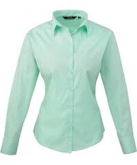 Dámská košile Premier - Zelenomodrá XXS