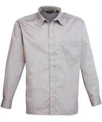 Pánská košile Premier - Stříbrná 37