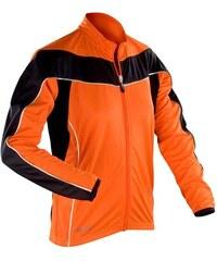 Kvalitní cyklistická bunda - Oranžová XS