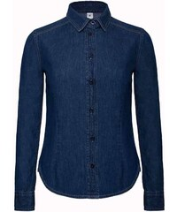 83a424ff2900 B C Džínsová košeľa dlhý rukáv