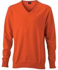 Pullover - Oranžová XS
