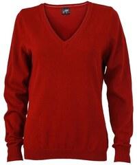 Pullover - Vínově červená XS