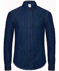 Džínová košile - Džínovina modrá S