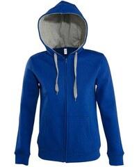 Trendy měkoučká mikina - Královsky modrá S