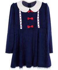 Lesara Kinder-Kleid mit Kragen - 116